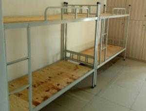 工厂宿舍上下铺铁床安装
